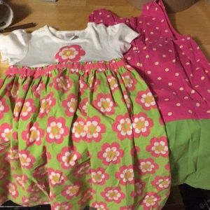 Gymboree dresses size 8&10